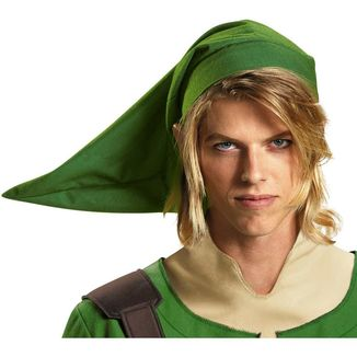 Set The Legend of Zelda - Orejas y Gorro Link Adulto