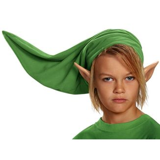 Set The Legend of Zelda - Orejas y Gorro Link Niño