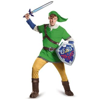 Cosplay The Legend of Zelda - Link Deluxe Adult