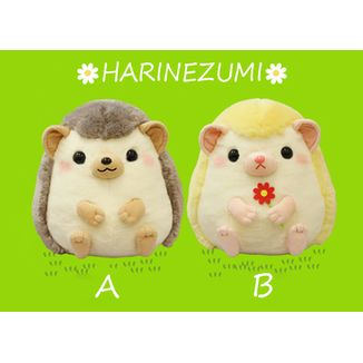 Plush doll  Horin & Flower Harinezumi