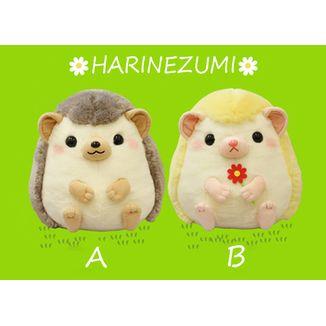 Peluche Horin & Flower Harinezumi