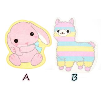 Carpet Rug Poteusa Alpacasso - Loppy & Rainbow Alpacasso