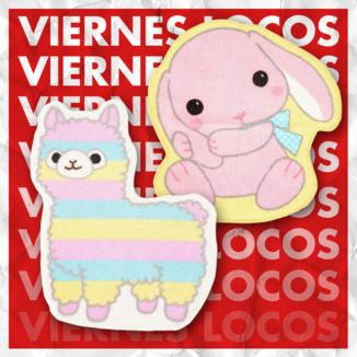 VIERNES LOCOS Alfombra Poteusa Alpacasso - Loppy & Rainbow Alpacasso