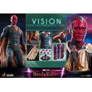 Figura Vision WandaVision La Bruja Escarlata y Vision Hot Toys