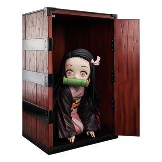 Nezuko Kamado in a box Figure Kimetsu no Yaiba Big Size