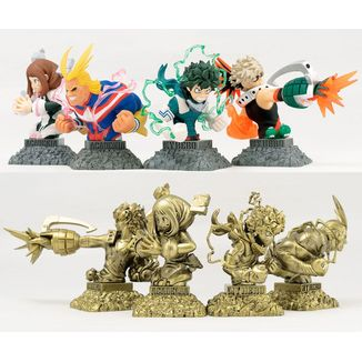 Figura Bust Up Heroes My Hero Academia WCF Set