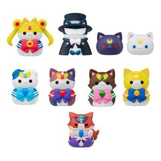 Figura Sailor Moon Mega Cat Project Sailor Mewn Special Set