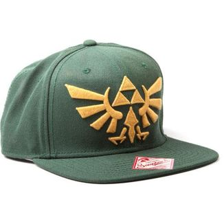 Gorra The Legend of Zelda - Trifuerza - Verde y Dorado
