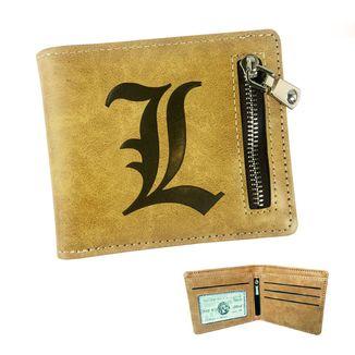 L Logo Wallet Death Note #2