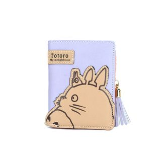 Totoro in Blue Wallet My Neighbor Totoro