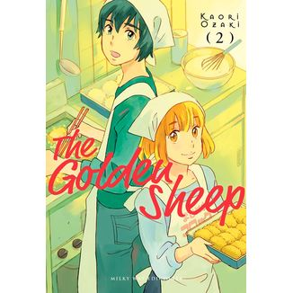 The Golden Sheep #02 Manga Oficial Milky Way Ediciones (spanish)