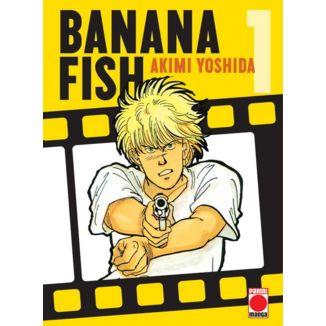 Banana Fish #01 Manga Oficial Panini Manga