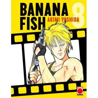 Banana Fish #08 Manga Oficial Panini Manga