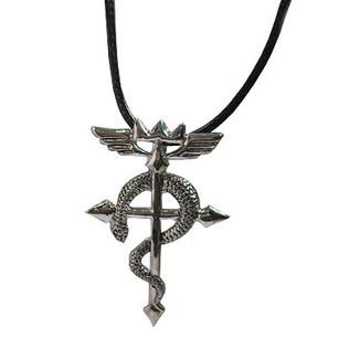 Colgante Fullmetal Alchemist - Cruz de Flamel