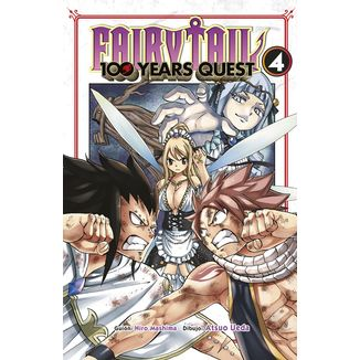 Fairy Tail: 100 Years Quest #04 Manga Oficial Norma Editorial (spanish)