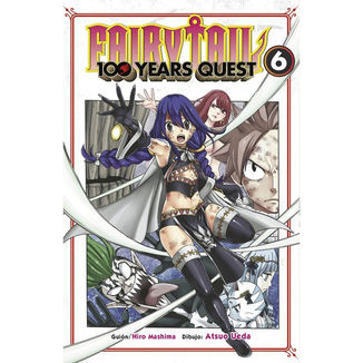 Fairy Tail 100 Years Quest #06 Manga Oficial Norma Editorial