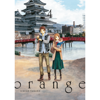 Orange #04 (Spanish) Manga Oficial Tomodomo