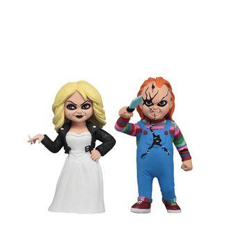 Figura Chucky & Tiffany La novia de Chucky Toony Terrors Set