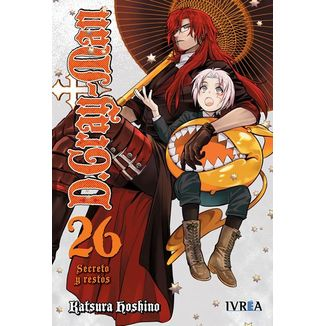 D.Gray-Man #26 Manga Ivrea (spanish)