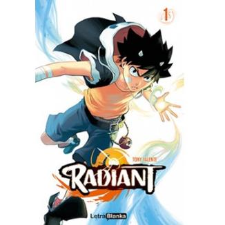 Radiant #01 Oficial Letra Blanka