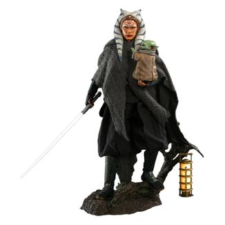Figura Ahsoka Tano y Grogu Star Wars The Mandalorian Hot Toys