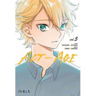 ACT-AGE #05 Manga Oficial Ivrea (spanish)