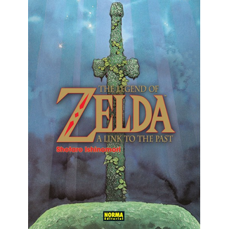 The Legend of Zelda  A Link to the past Manga Oficial Norma Editorial