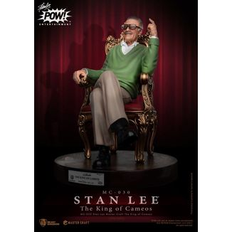 Stan Lee Figure Master Craft The King of Cameos Marvel Comics