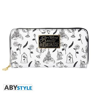Beauty and the Beast Zip Purse Disney
