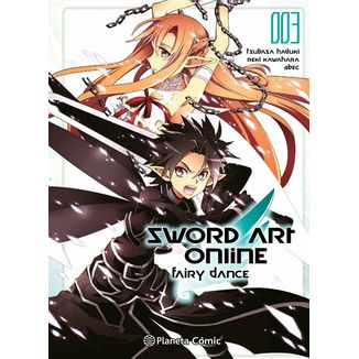 Sword Art Online Fairy Dance #03 Manga Oficial Planeta Comic (Spanish)