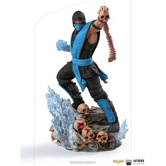 Estatua Sub Zero Mortal Kombat Art Scale