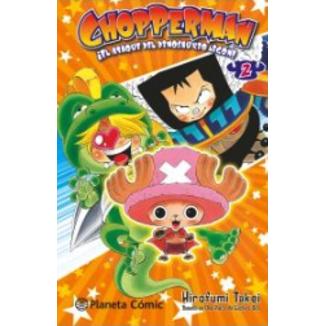 CHOPPERMAN, ¡Aquí está nuestro héroe! #02 Manga Oficial Planeta Comic