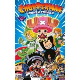 CHOPPERMAN, ¡Aquí está nuestro héroe! #04 Manga Oficial Planeta Comic