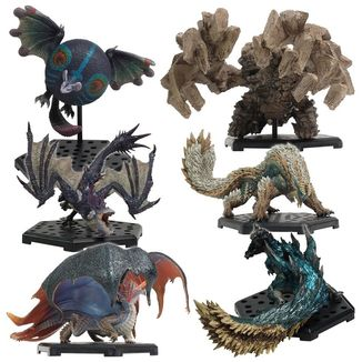Figura Aleatoria Monster Hunter Capcom Figure Builder Standard Model Plus Vol. 17