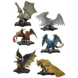 Figura Aleatoria Monster Hunter Capcom Figure Builder Standard Model Plus Vol. 13
