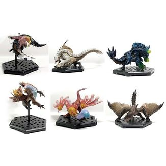 Figura Aleatoria Monster Hunter Capcom Figure Builder Standard Model Plus Vol. 16