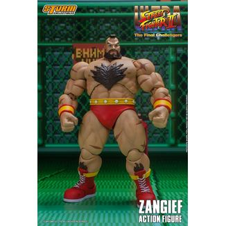 Figura Zangief Ultra Street Fighter II The Final Challengers