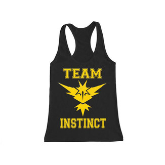 Camiseta Tirantes Pokemon Go - Team Instinct #01 - Chica Talla L