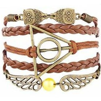 Harry Potter Bracelet - Deathly Hallows