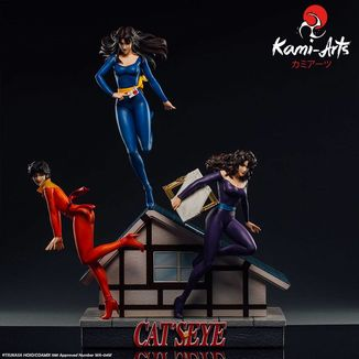 Rui Ai y Hitomi Kisugi Statue Cats Eye