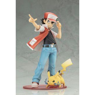 Figura Pokemon - Red & Pikachu - ARTFX J