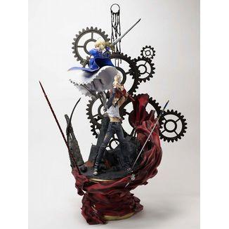 Shiro Emiya & Saber The Path Statue Fate Stay Night 15th Anniversary