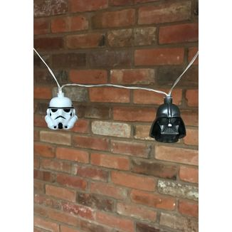 Luces Darth Vader & Stormtrooper Star Wars 3D