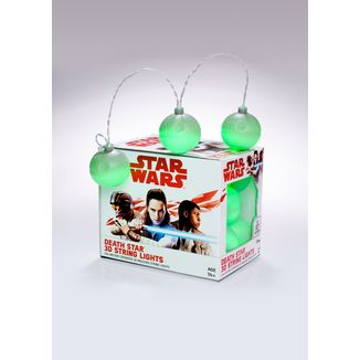 Luces Estrella de la Muerte Star Wars Mixed 3D String Lights
