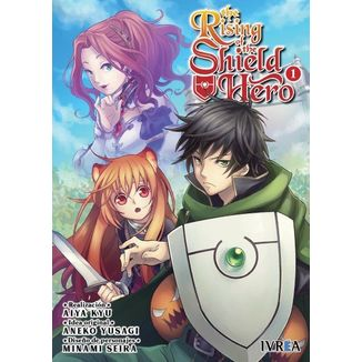 The Rising Of The Shield Hero #01 Manga Oficial Ivrea