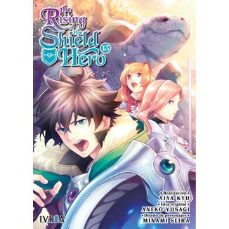 The Rising Of The Shield Hero #13 Manga Oficial Ivrea (spanish)