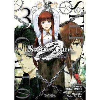 Steins;Gate Zero #03 Manga Oficial Ivrea