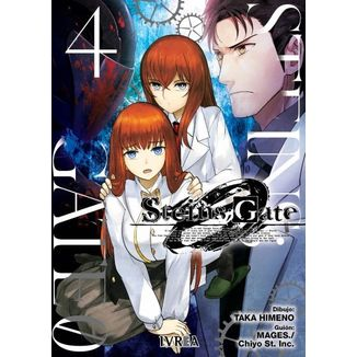 Steins;Gate Zero #04 Manga Oficial Ivrea (spanish)