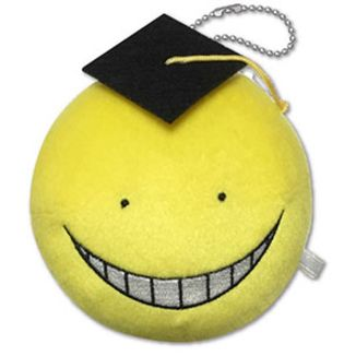 Plush doll Assassination Classroom - Head Koro Sensei - Yellow Happy 12cm