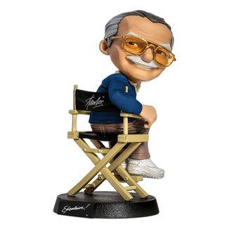 Figura Stan Lee Blue Shirt Version Marvel Comics Mini Co